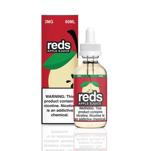 Reds Apple E-Juice (Selfie Sunday) by 7 Daze Vape 60ml - 120ml.co - Best Premium eJuice and Vapor Product Store