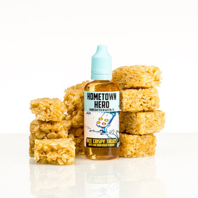 Rice Crispy Treats by Hometown Hero Vapor 50ml - 100ml - 120ml.co - Premium Large Format eJuice and Vapor Products