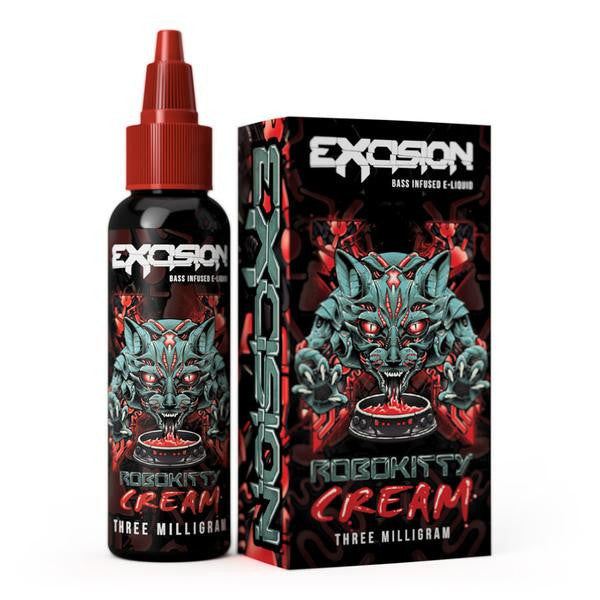 Robokitty Cream by ALT ZERO and Excision Vapor E-Liquid 60ml - 120ml.co - Premium Large Format eJuice and Vapor Products