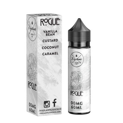 Rogue by Vigilante Juice Co. E-Liquid 60mL - 120mL - 120ml.co - Premium Large Format eJuice and Vapor Products