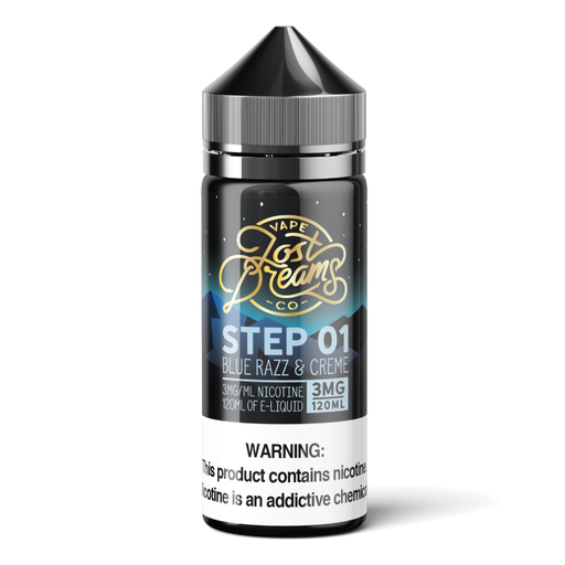 Step 1 by Lost Dreams Vape Co. E-Liquid 120ml - 120ml.co - Best Premium eJuice and Vapor Product Store