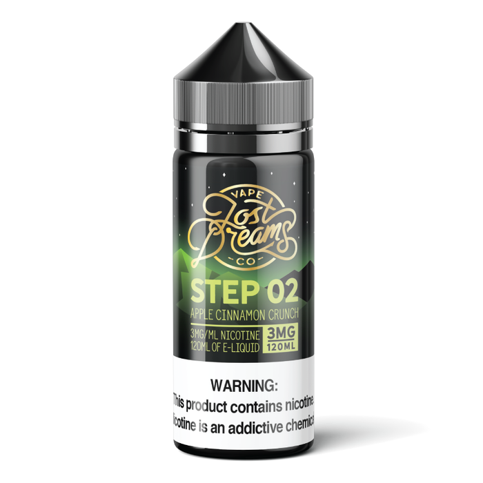 Step 2 by Lost Dreams Vape Co. E-Liquid 120ml - 120ml.co - Premium Large Format eJuice and Vapor Products