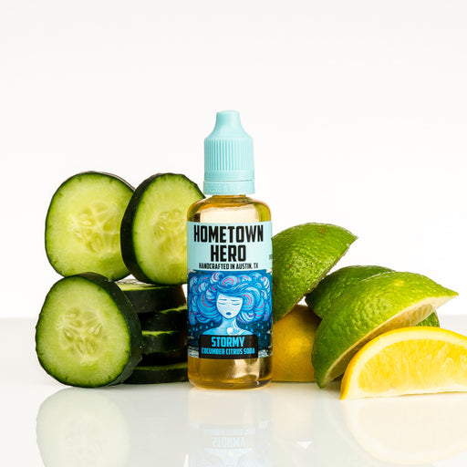 Stormy by Hometown Hero Vapor 50ml - 120ml.co - Premium Large Format eJuice and Vapor Products