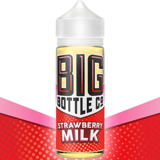Strawberry Milk by Big Bottle Co. E-Liquid 120ml - 120ml.co - Premium Large Format eJuice and Vapor Products