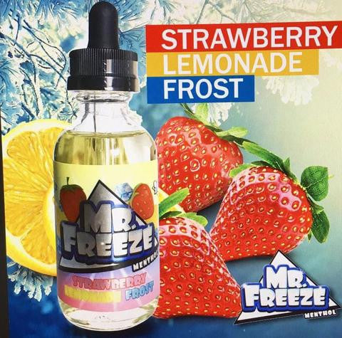 Strawberry Lemonade Frost by Mr. Freeze E-Liquid 60ml - 120ml.co - Premium Large Format eJuice and Vapor Products