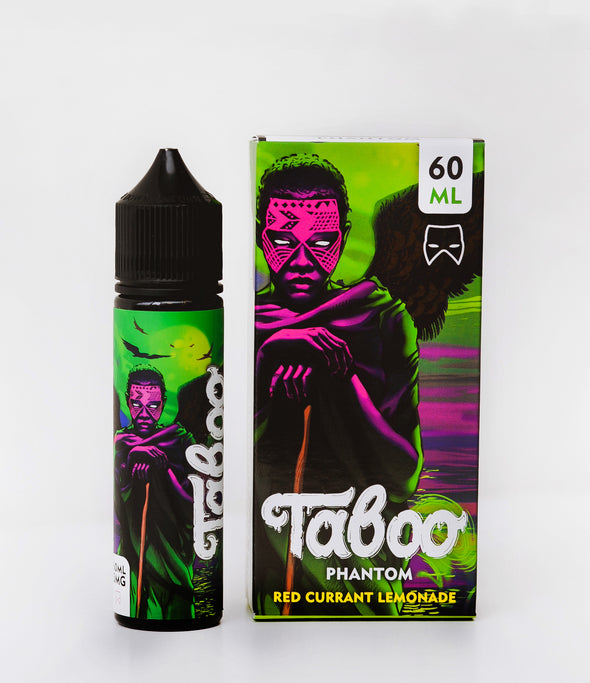 Phantom by Taboo E-Liquid 60mL - 120ml.co - Premium Large Format eJuice and Vapor Products