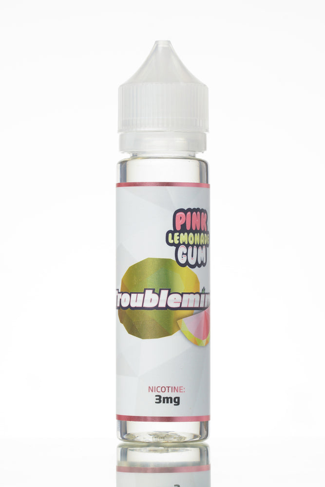 Pink Lemonade Gum by Troublemint E-Liquid (Frisco Vapor) 60-120ml - 120ml.co - Premium Large Format eJuice and Vapor Products