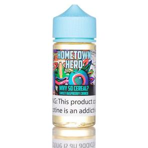 Why So Cereal by Hometown Hero Vapor 50ml - 100ml - 120ml.co - Premium Large Format eJuice and Vapor Products