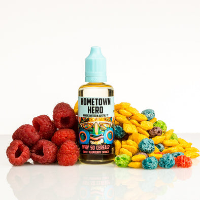Why So Cereal by Hometown Hero Vapor 50ml - 120ml.co - Premium Large Format eJuice and Vapor Products