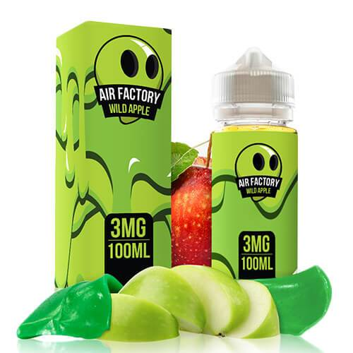 Wild Apple by Air Factory E-Liquid 100ml - 120ml.co - Premium Large Format eJuice and Vapor Products
