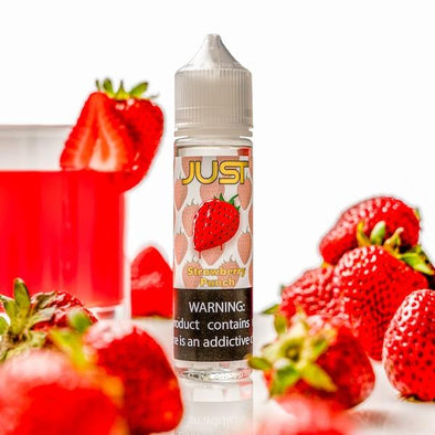 Strawberry Punch by Just (Hometown Hero Vapor) 60ml - 120ml.co - Premium Large Format eJuice and Vapor Products