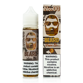 No. 00 by Beard Vape Co. eJuice 60ml - 120ml.co - Premium Large Format eJuice and Vapor Products