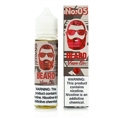 No. 05 by Beard Vape Co. eJuice 60ml - 120ml.co - Premium Large Format eJuice and Vapor Products