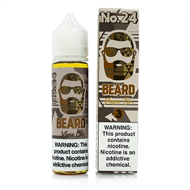 No. 24 by Beard Vape Co. eJuice 60ml - 120ml.co - Premium Large Format eJuice and Vapor Products