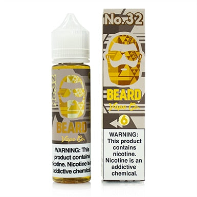 No. 32 by Beard Vape Co. eJuice 60ml - 120ml.co - Best Premium eJuice and Vapor Product Store