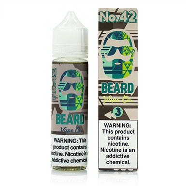No. 42 by Beard Vape Co. eJuice 60ml - 120ml.co - Premium Large Format eJuice and Vapor Products
