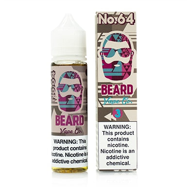 No. 64 by Beard Vape Co. eJuice 60ml - 120ml.co - Premium Large Format eJuice and Vapor Products