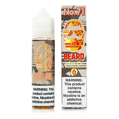 No. 71 by Beard Vape Co. eJuice 60ml - 120ml.co - Premium Large Format eJuice and Vapor Products
