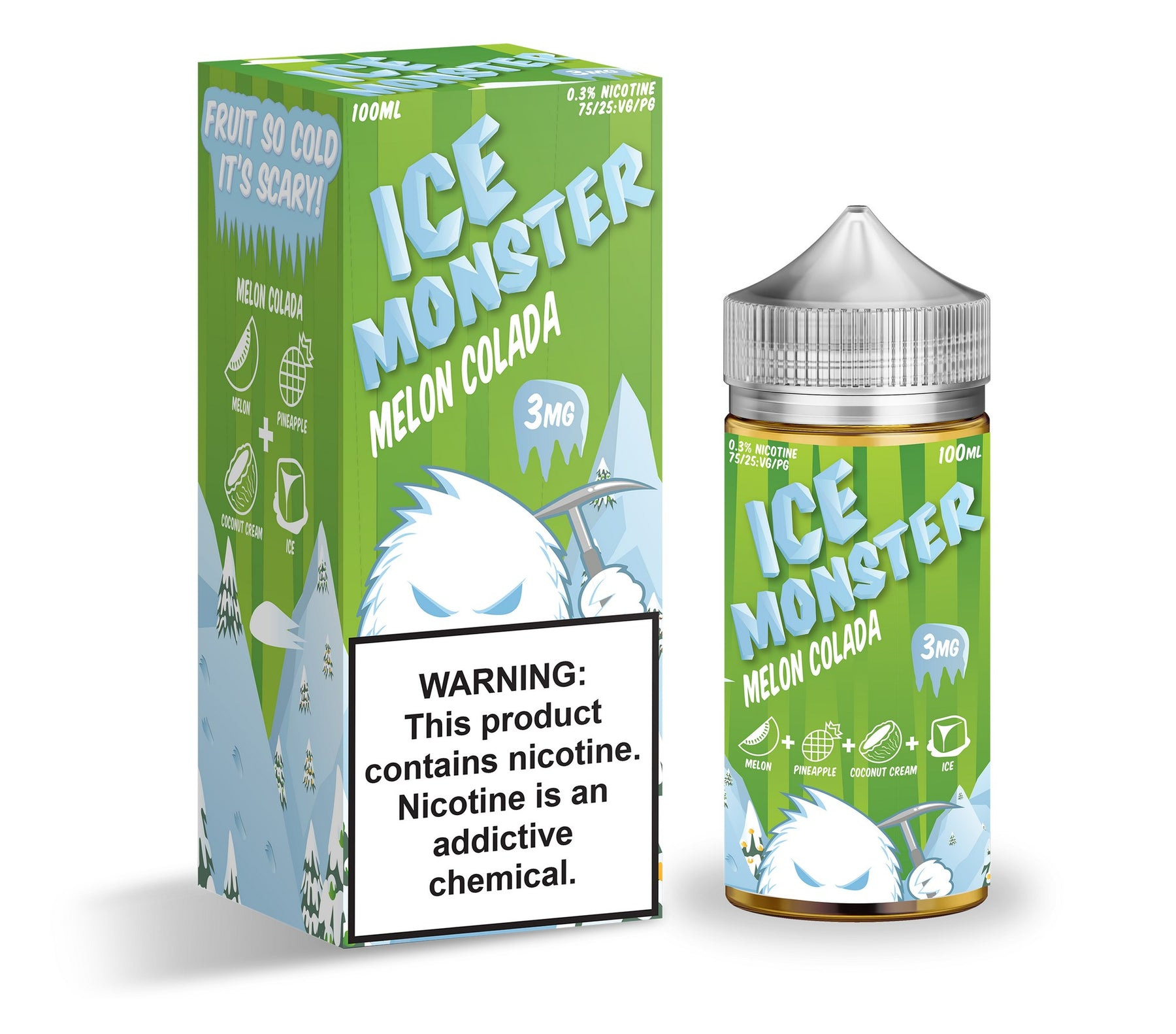 Melon Colada by Ice Monster eJuice 100ml - 120ml.co - Best Premium eJuice and Vapor Product Store
