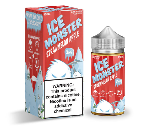Strawmelon Apple by Ice Monster eJuice 100ml - 120ml.co - Best Premium eJuice and Vapor Product Store
