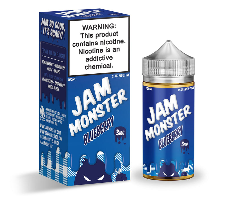 Blueberry by Jam Monster eJuice 100ml - 120ml.co - Best Premium eJuice and Vapor Product Store
