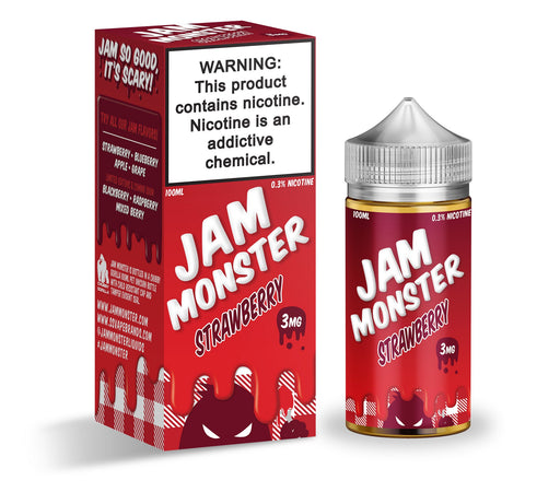 Strawberry by Jam Monster eJuice 100ml - 120ml.co - Premium Large Format eJuice and Vapor Products