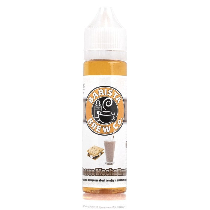 S'mores Mocha Breeze by Barista Brew Co E-Liquids 60mL - 120ml.co - Best Premium eJuice and Vapor Product Store