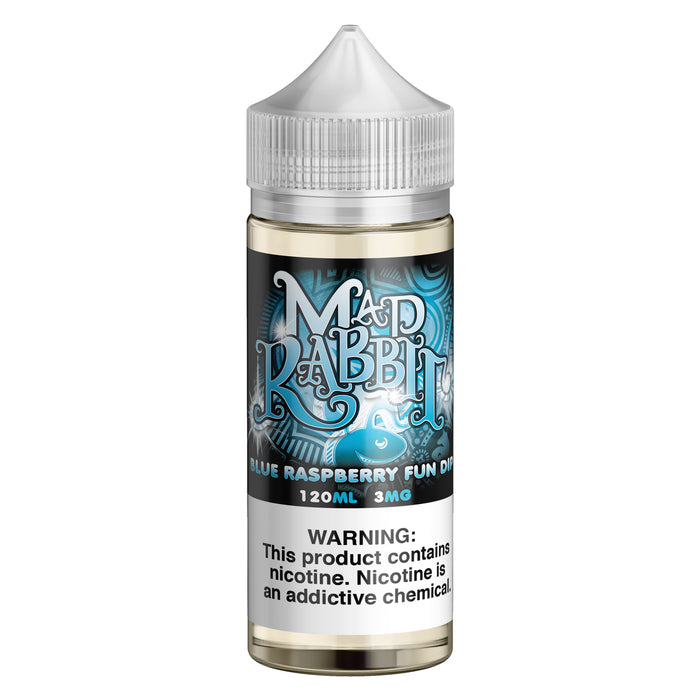 Blue Raspberry Fun Dip by Mad Rabbit eJuice 120ml - 120ml.co - Best Premium eJuice and Vapor Product Store