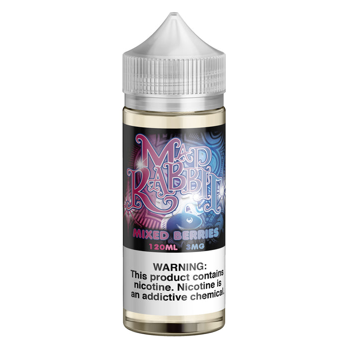 Mixed Berries by Mad Rabbit eJuice 120ml - 120ml.co - Best Premium eJuice and Vapor Product Store