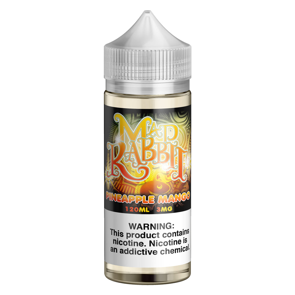 Pineapple Mango by Mad Rabbit eJuice 120ml - 120ml.co - Best Premium eJuice and Vapor Product Store