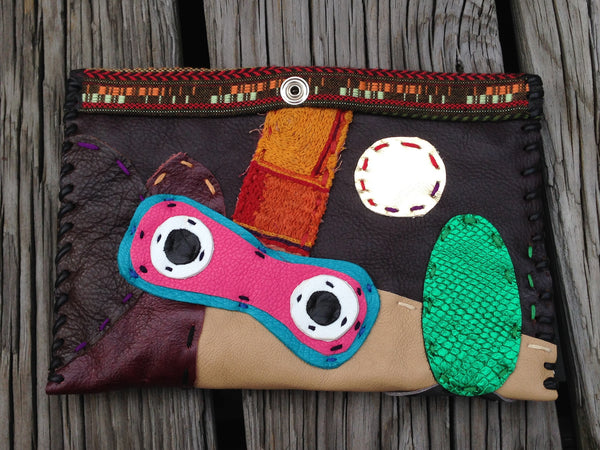 Abstract Motif Pouch