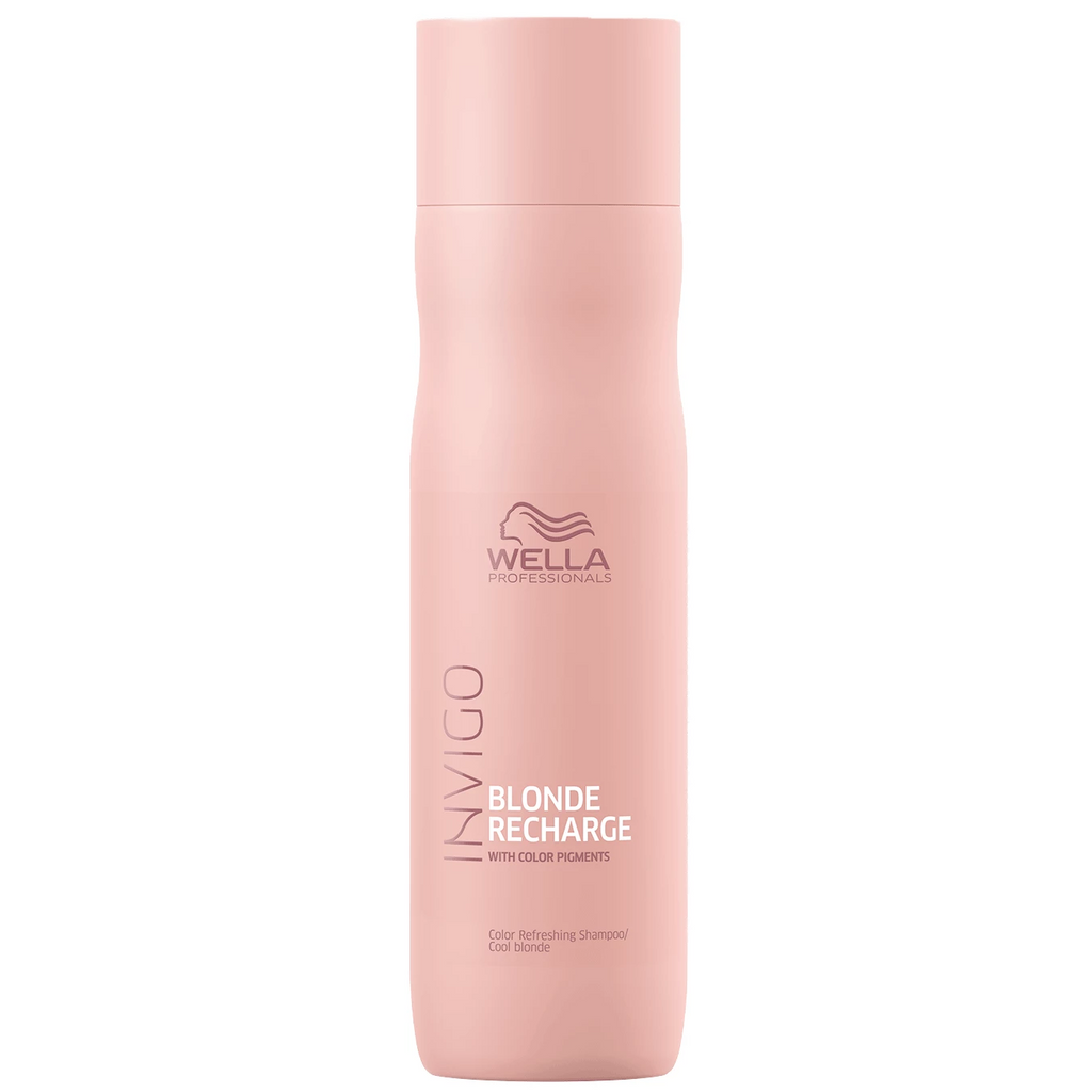 Wella Invigo Blonde Recharge Color Refreshing Shampoo for Cool Blonde