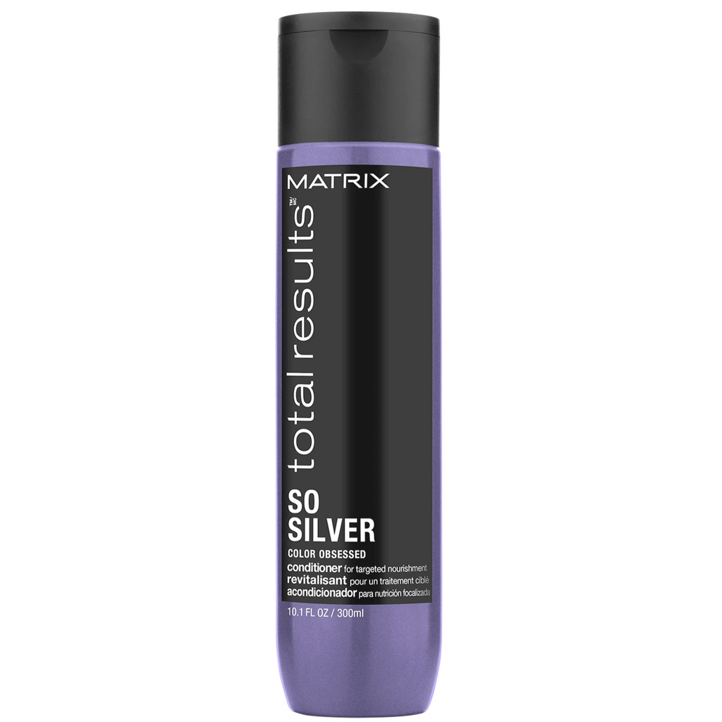 Matrix Total Results So Silver Conditioner for Blonde and Silver Hair 10.1 oz