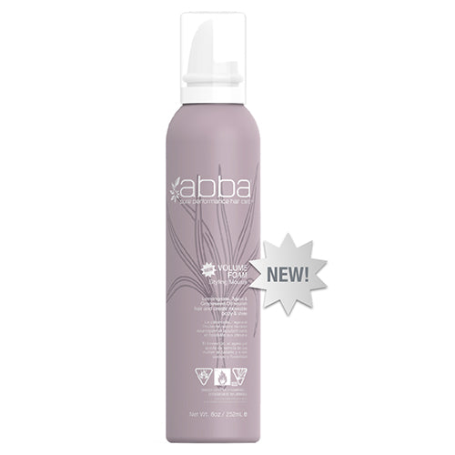 Abba Volume Foam Styling Mousse 8 oz