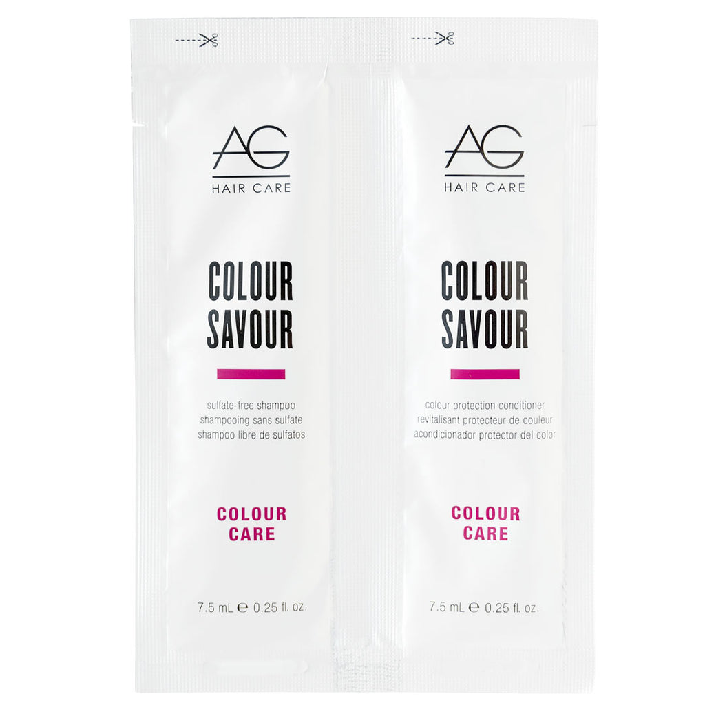 AG Colour Care Colour Savour Shampoo and Conditioner Sample