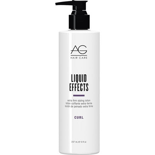 AG Curl Liquid Effects Extra Firm Styling Lotion 8 oz