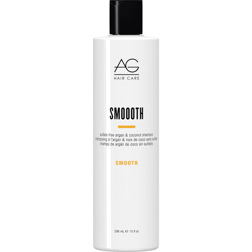 AG Smooth Sulfate Free Argan and Coconut Shampoo 10 oz
