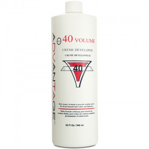 Advantage 40 Volume Creme Developer 32 oz