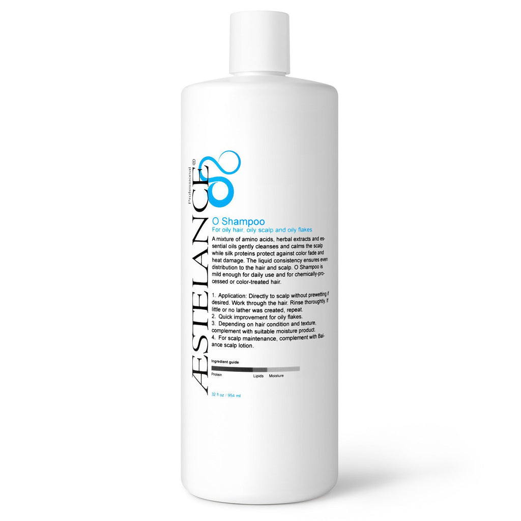 Aestelance O Shampoo for Oily Hair and Scalp 32 oz