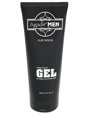 Agadir Men Oud Wood Firm Hold Gel 6.7 oz