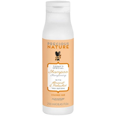 Alfaparf Milano Precious Nature Shampoo with Almond & Pistachio for Colored Hair 8.45 oz
