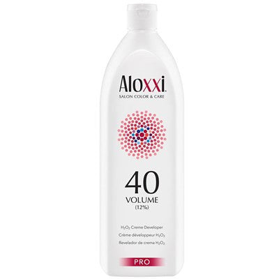 Aloxxi Support Creme Activator 40 Volume Developer 33.8 oz