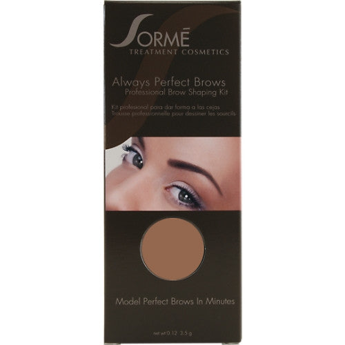 Always Perfect Brows Shaping Kit Medium Brown 55