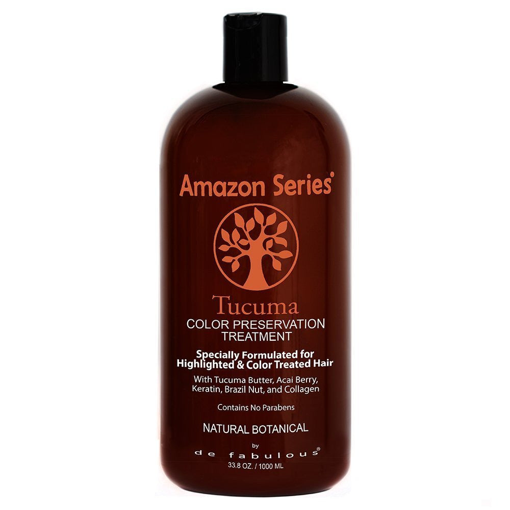 Amazon Series Tucuma Color Preservation Treatment For Highlighted and Color Treated Hair 33.8 oz