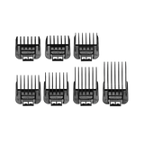 Andis Snap-On Blade Attachment Combs, 7-Comb Set Black