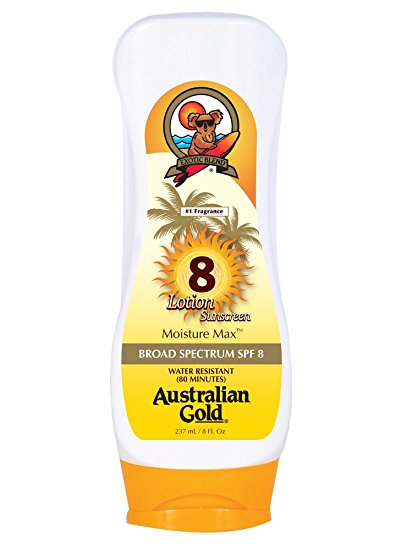 Australian Gold Lotion SPF 8 oz