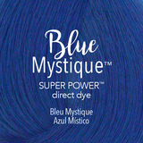 Mydentity Super Power Direct Dye 3 oz Blue Mystique Color Swatch