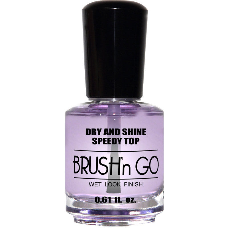 Duri Brush N Go Dry and Shine Speedy Top Wet Look Finish 0.61 oz