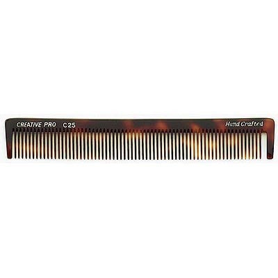 Creative Hairtools Handmade Tortoise Combs C25