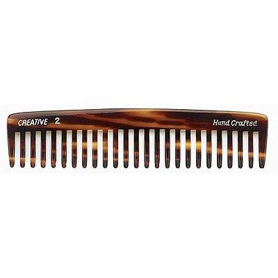 Creative Hairtools Handmade Tortoise Combs C2W